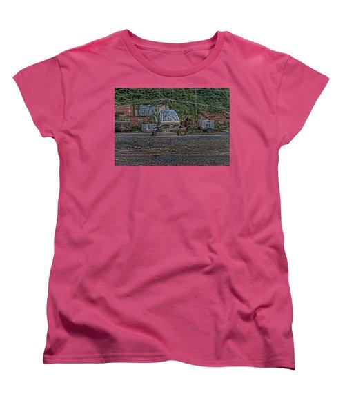 Women's T-Shirt (Standard Cut) featuring the photograph Help 4 by Timothy Latta