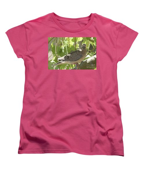 Here's Looking At You Babe Women's T-Shirt (Standard Cut) by Anne Rodkin