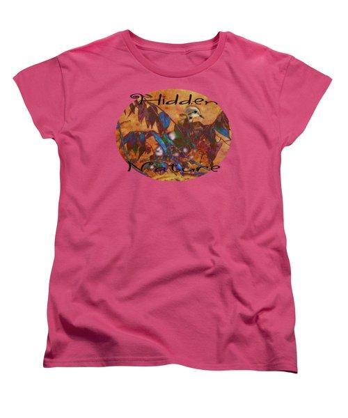 Hidden Nature - Abstract Women's T-Shirt (Standard Cut) by Anita Faye