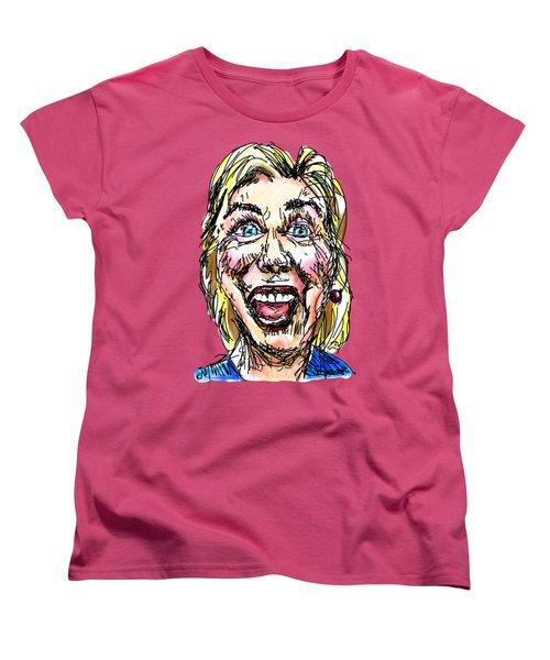 Hillary Women's T-Shirt (Standard Cut) by Robert Yaeger
