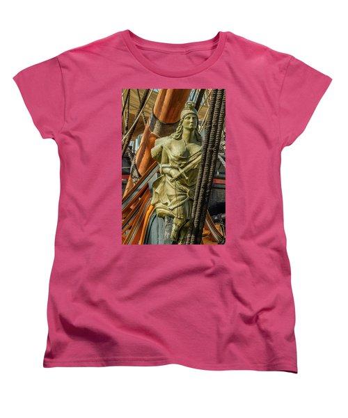 Women's T-Shirt (Standard Cut) featuring the photograph Hms Surprise by Bill Gallagher