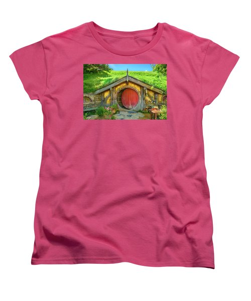 Hobbit House Women's T-Shirt (Standard Cut) by Racheal Christian