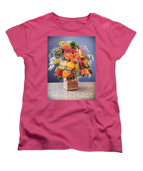 Women's T-Shirt (Standard Cut) featuring the photograph Holy Week Flowers 2017 by Sarah Loft
