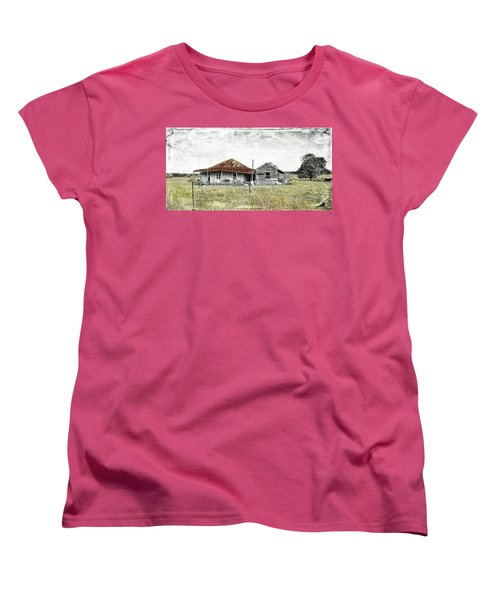Home Sweet Home 001 Women's T-Shirt (Standard Cut) by Kevin Chippindall