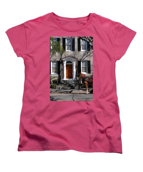 Horse Carriage In Charleston Women's T-Shirt (Standard Cut)