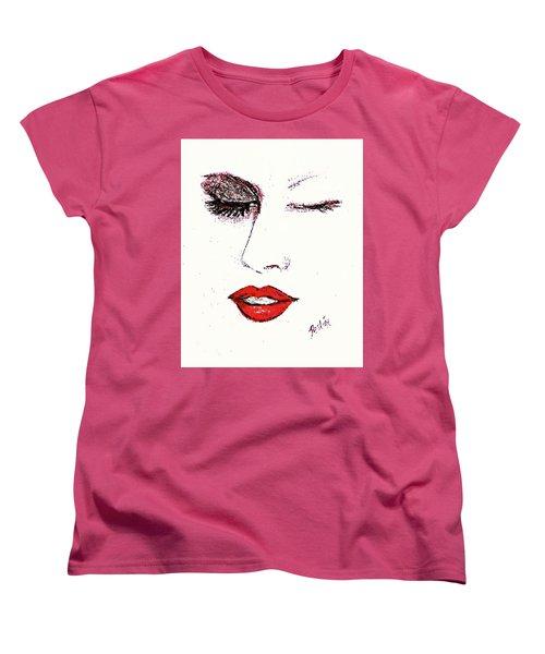 Hot Lips Women's T-Shirt (Standard Cut)