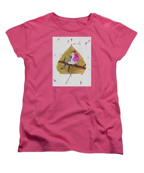 House Finch Women's T-Shirt (Standard Cut) by Ralph Root