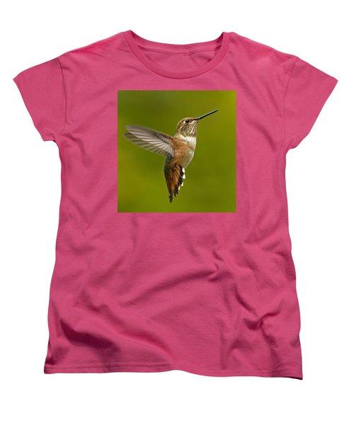 Hover Women's T-Shirt (Standard Cut) by Sheldon Bilsker