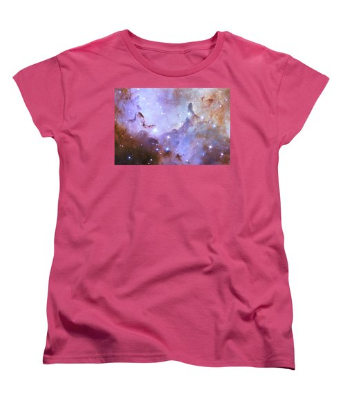 Women's T-Shirt (Standard Cut) featuring the photograph Hubble Space Telescope Celebrates 25 Years Of Unveiling The Universe by Nasa