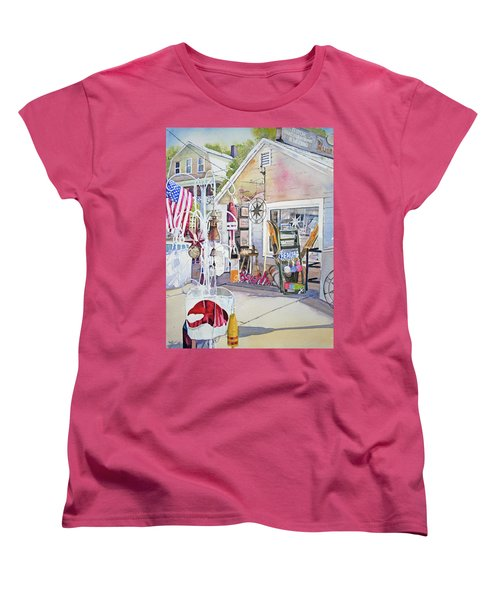 Hull Of A Shoppe Women's T-Shirt (Standard Cut) by P Anthony Visco