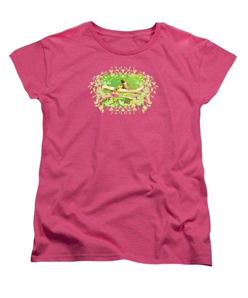 Hummingbird Attitude T - Shirt Designe Women's T-Shirt (Standard Cut) by Debbie Portwood