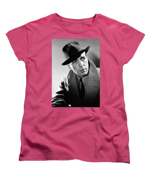 Humphrey Bogart Women's T-Shirt (Standard Cut) by Mountain Dreams