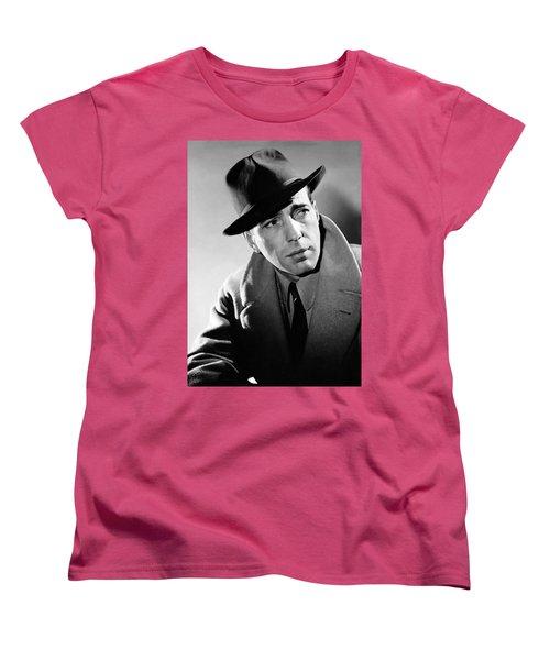 Humphrey Bogart Women's T-Shirt (Standard Cut)