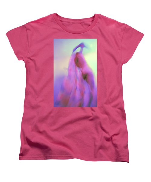 Women's T-Shirt (Standard Cut) featuring the photograph I Dream In Colors by Joe Kozlowski