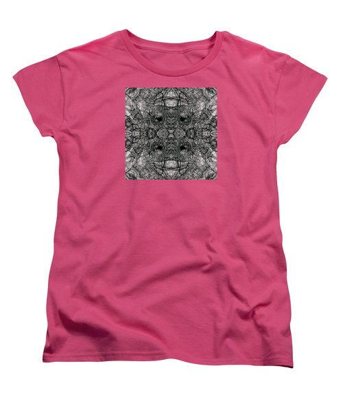 Women's T-Shirt (Standard Cut) featuring the drawing I Left All My Chocolate In Pittsburgh  Series by Jack Dillhunt