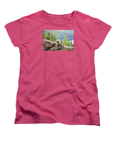 Women's T-Shirt (Standard Cut) featuring the photograph I Love My Home by Janie Johnson