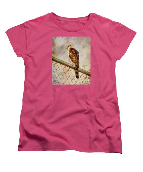Women's T-Shirt (Standard Cut) featuring the photograph I See You by Rhonda Strickland