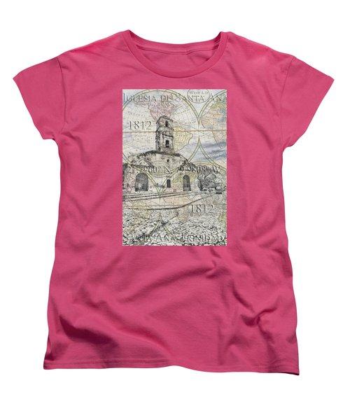 Iglesia De Santa Ana Passport Women's T-Shirt (Standard Cut)