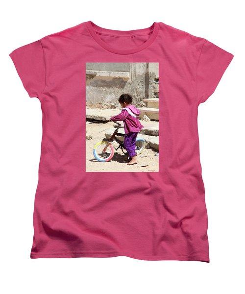 I'll Get It Straight First Women's T-Shirt (Standard Cut) by Jez C Self
