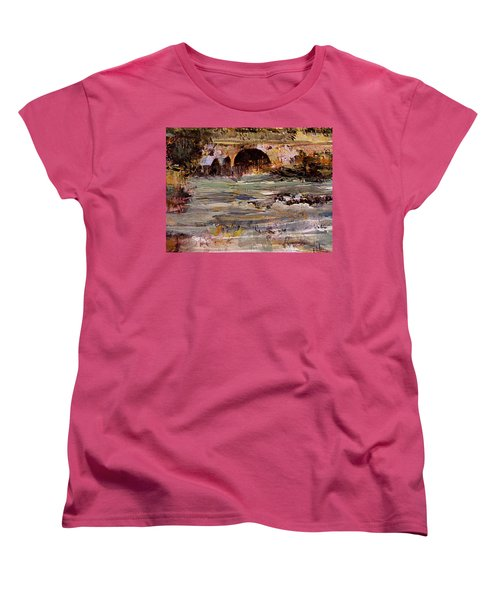 Imaginary Travel Women's T-Shirt (Standard Cut) by Nancy Kane Chapman