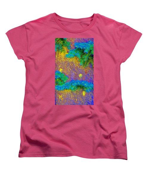 Women's T-Shirt (Standard Cut) featuring the photograph Imagining Hawaii by Lenore Senior