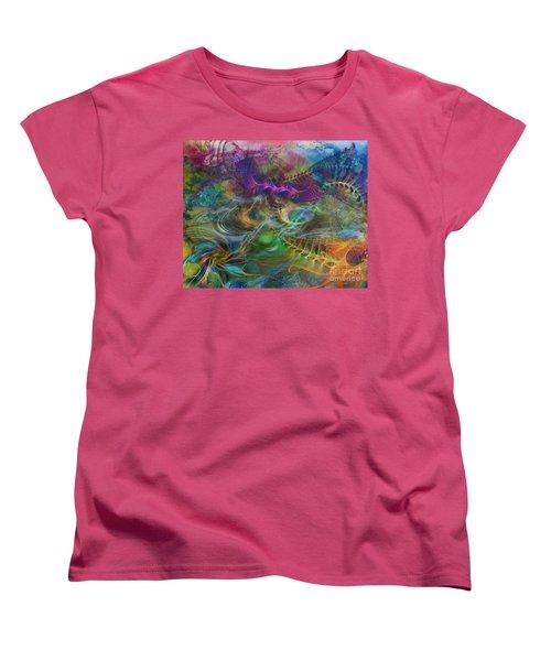 In The Beginning Women's T-Shirt (Standard Cut) by John Robert Beck