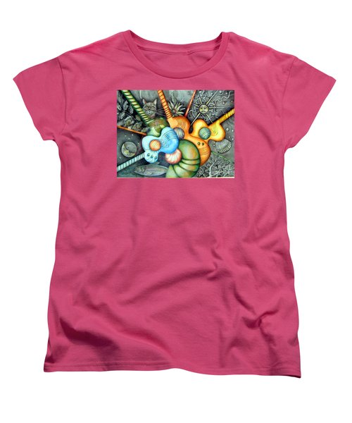 In The Key I See Women's T-Shirt (Standard Cut) by Linda Shackelford