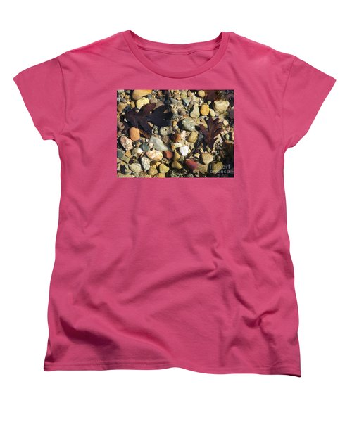 Women's T-Shirt (Standard Cut) featuring the photograph In The Shallows 2 by Gerald Strine
