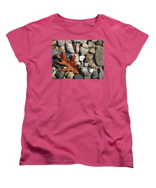 Women's T-Shirt (Standard Cut) featuring the photograph In The Shallows by Gerald Strine