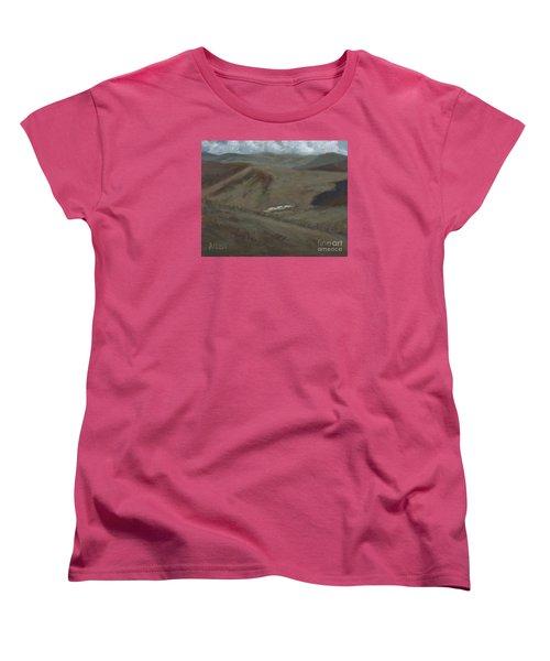Indian Lodge - A View From The Top Ft. Davis, Tx Women's T-Shirt (Standard Cut)