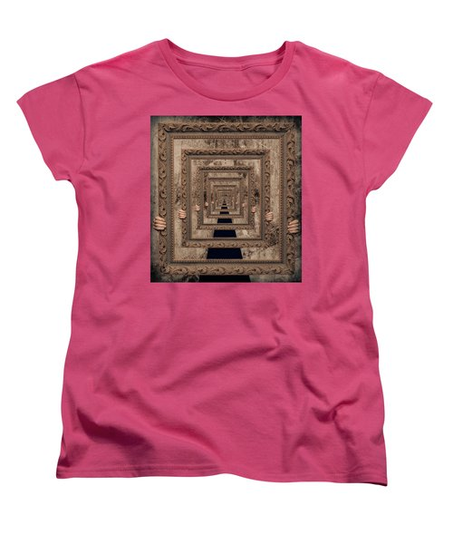 Infinity Women's T-Shirt (Standard Cut) by Anna Rumiantseva