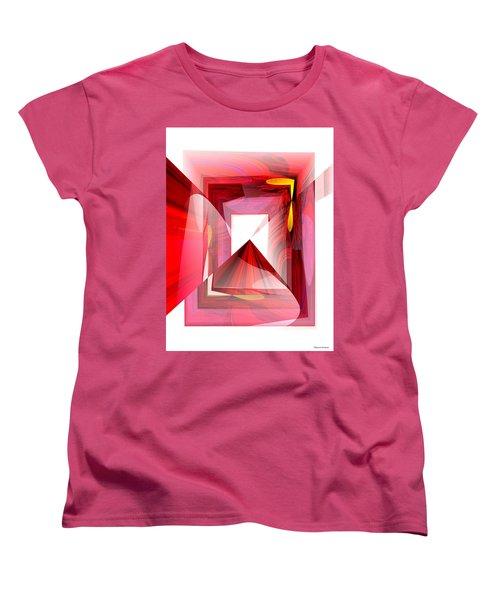 Infinity Tunnel  Women's T-Shirt (Standard Cut) by Thibault Toussaint