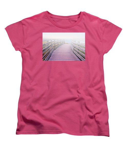 Into The Mist Women's T-Shirt (Standard Cut) by Swank Photography