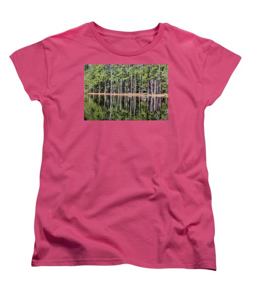Into The Sc Woods Women's T-Shirt (Standard Cut) by Menachem Ganon