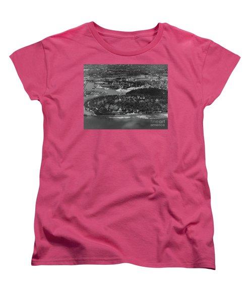 Inwood Hill Park Aerial, 1935 Women's T-Shirt (Standard Cut)