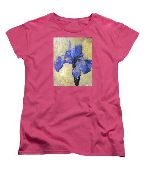 Iris Women's T-Shirt (Standard Cut) by Barbara O'Toole
