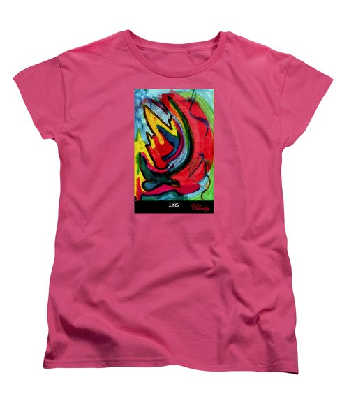 Iris Women's T-Shirt (Standard Cut) by Clarity Artists
