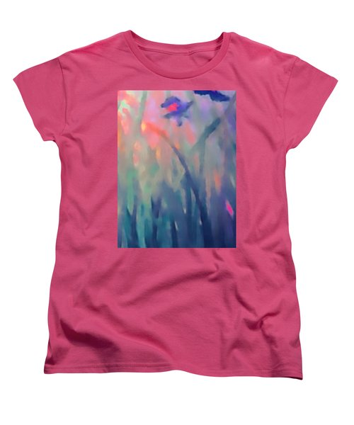 Iris Women's T-Shirt (Standard Cut) by Holly Martinson