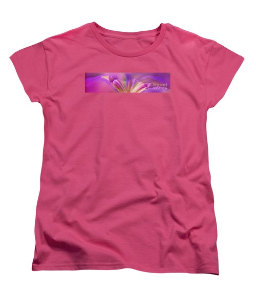 Iris Panorama Women's T-Shirt (Standard Cut) by Judi Bagwell