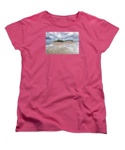 Women's T-Shirt (Standard Cut) featuring the photograph Private Island by Alan Raasch