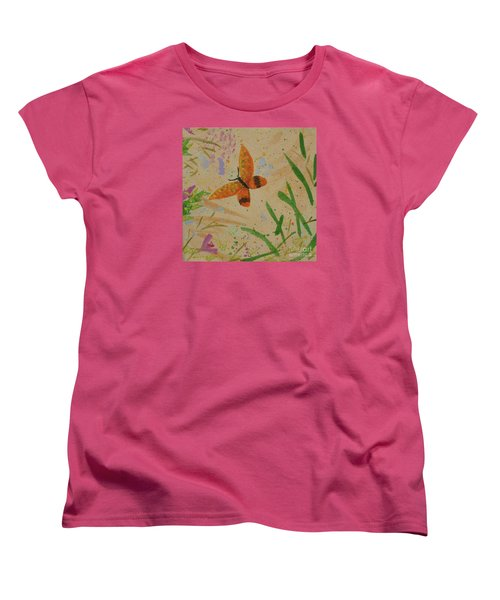 Island Butterfly Series 3 Of 6 Women's T-Shirt (Standard Cut) by Gail Kent