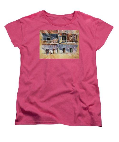 Island Community Women's T-Shirt (Standard Cut) by Al Brown