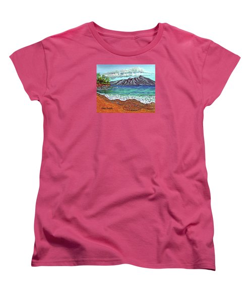 Island Time Women's T-Shirt (Standard Cut) by Debbie Chamberlin