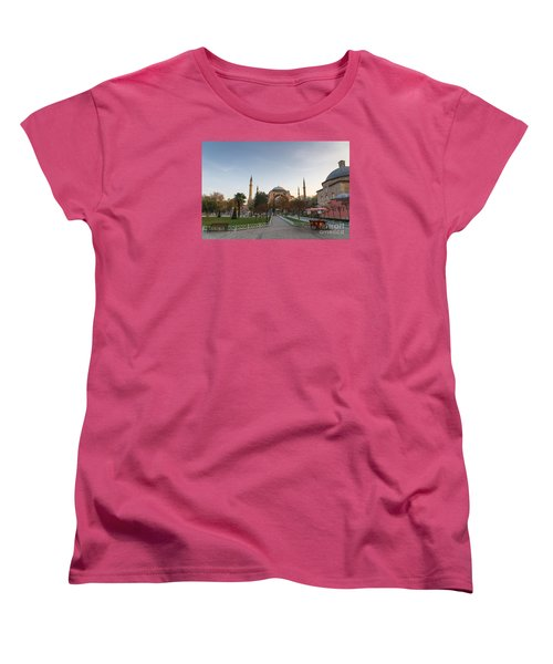 Women's T-Shirt (Standard Cut) featuring the photograph Istanbul City Center by Yuri Santin