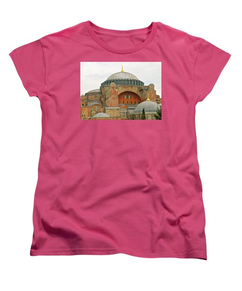 Women's T-Shirt (Standard Cut) featuring the photograph Istanbul Dome by Munir Alawi