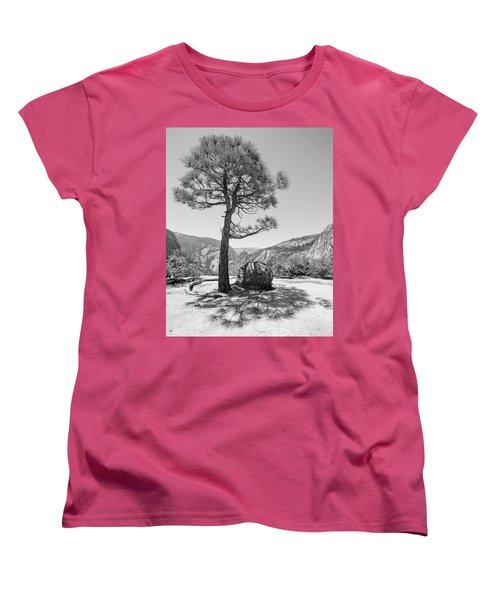 It's Between Them Women's T-Shirt (Standard Cut) by Ryan Weddle
