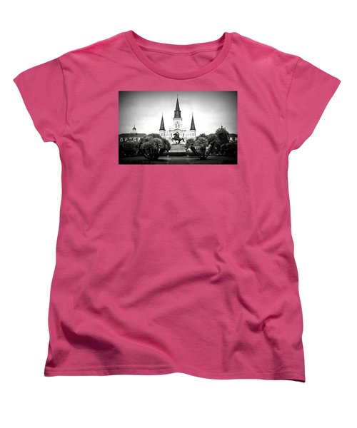 Jackson Square 2 Women's T-Shirt (Standard Cut) by Perry Webster