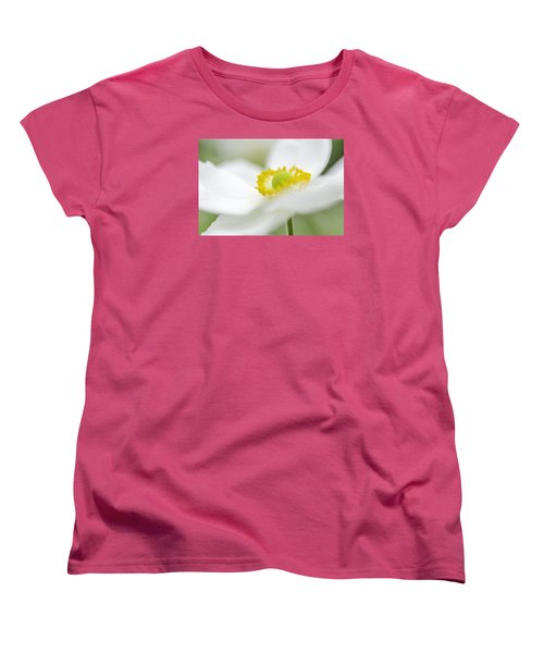 Japanese Anemone Women's T-Shirt (Standard Cut) by Mary Angelini