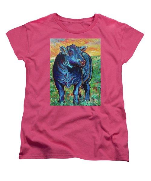 Joe Women's T-Shirt (Standard Cut) by Jenn Cunningham