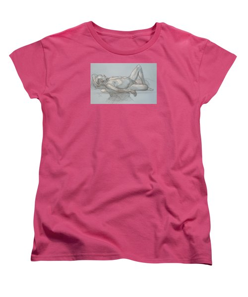 Joey Reclining #1 Women's T-Shirt (Standard Cut) by Donelli  DiMaria